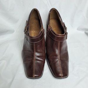 Aerosoles Brown Ankle Shoes NWOT